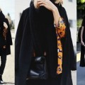 3 Chic Ways to Style a Boring Black Scarf