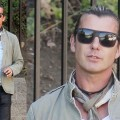 Gavin Rossdale Adds a Touch of Extra to His Daddy-on-Duty Look