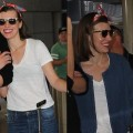 How to Look Comfy and Cute at the Airport Like Milla Jovovich