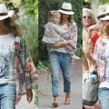 Copy This Super Cool Way to Style a Kimono from Jessica Alba