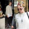 Cara Delevingne Is Having a Head Scarf Moment