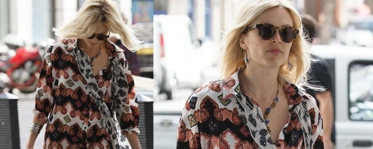 How to Mix Prints This Fall Like Fearne Cotton