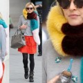 Fearne Cotton Wears Bright Fur on Bright Lace, Do You Approve?