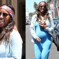 Pregnant Kelly Rowland Flaunts Baby Bump in a Bandanna
