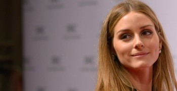 A Genius Way to Wear a Scarf with a Dress a La Olivia Palermo