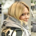 How to Look Sporty Chic in a Scarf Like Hilary Duff