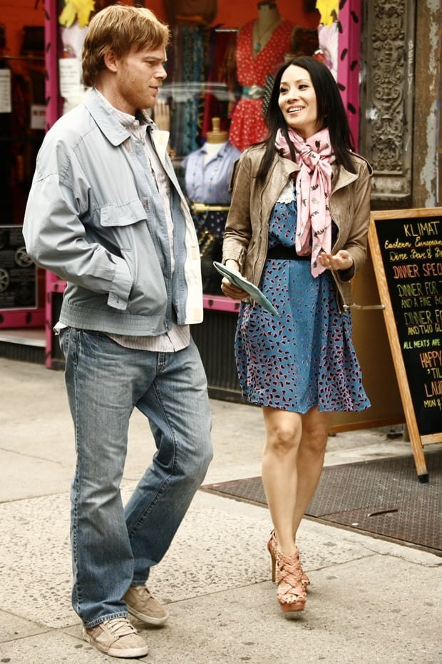 Michael.C Hall and Lucy Liu