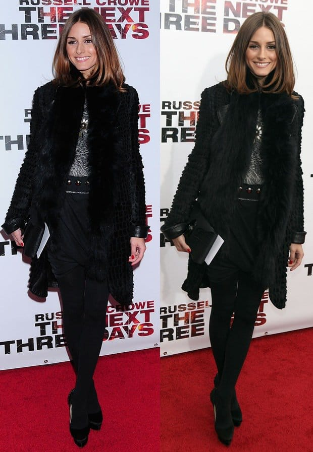 Olivia Palermo at a special screening of The Next Three Days held at the Ziegfeld theater in New York City on November 9, 2010