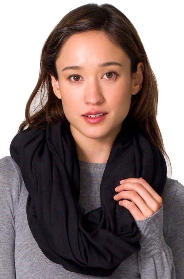 american apparel lightweight circle scarf