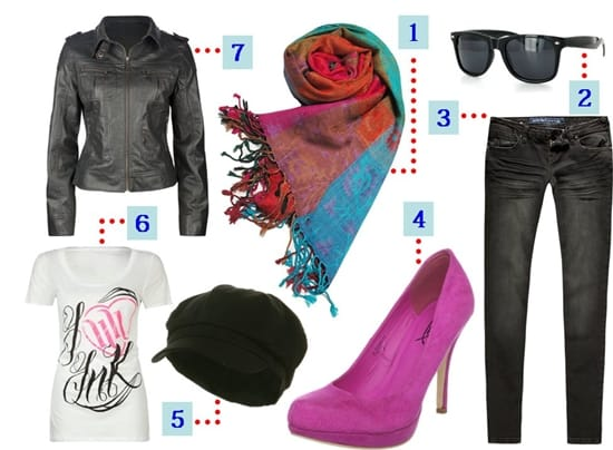 Nina Dobrev inspired outfit