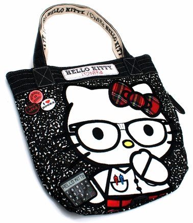 Hello Kitty I Love Nerds Tote
