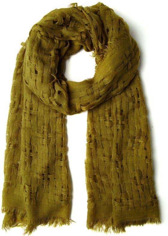modcloth olive grove scarf