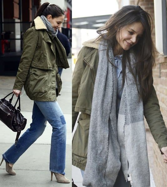 Katie Holmes at a hotel for a meeting Jan 29 NYC