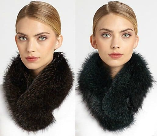 sherry cassin classic fur clip collar3-horz