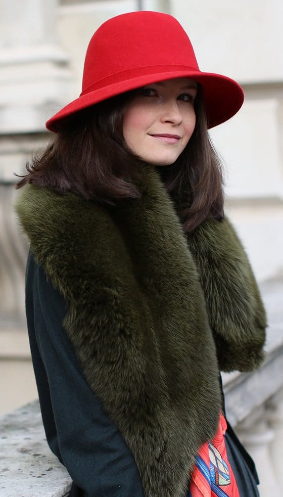 Street Style at LFW feb 19