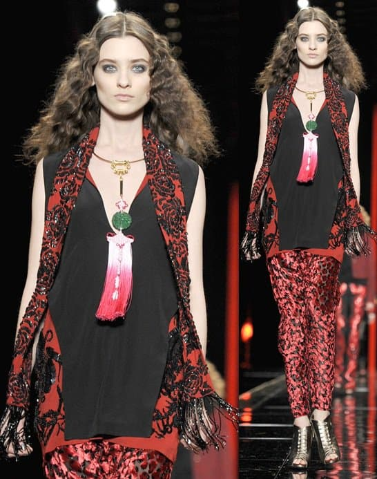 feb 21 Milan Fashion Week - Just Cavalli - Runway