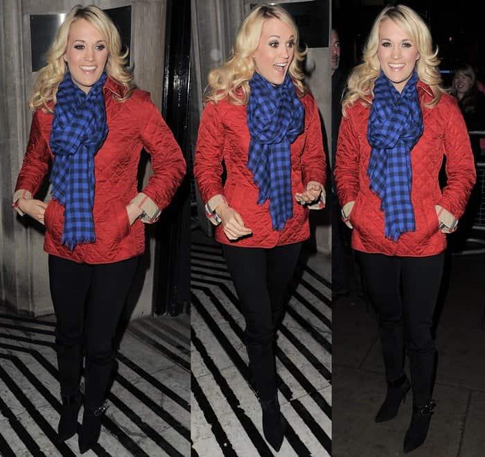 Carrie Underwood Leaving Radio 2 Studios