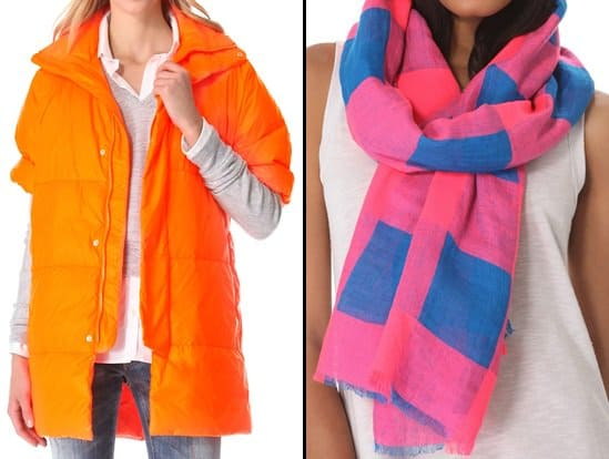 dsquared jacket and marc by marc jacobs scarf
