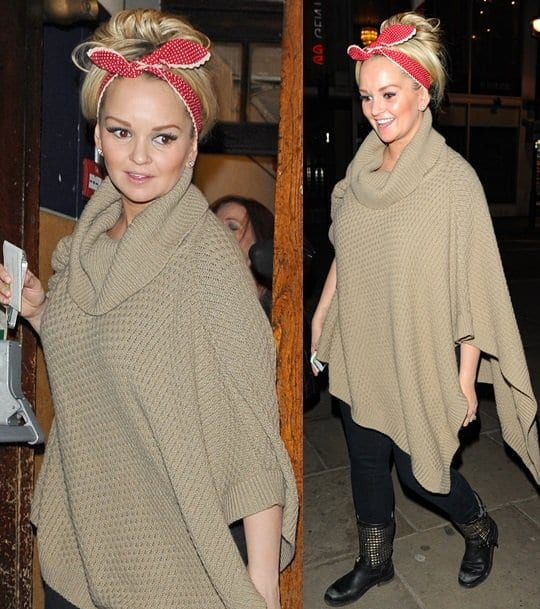 Jennifer Ellison Leaves The Palace Theatre March 19
