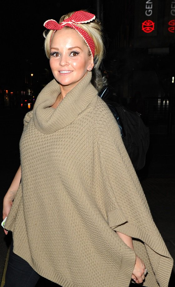 March 19 Jennifer Ellison Leaves The Palace Theatre