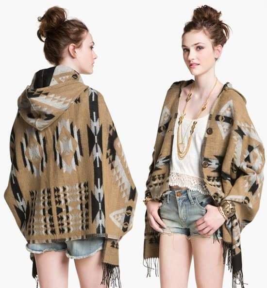 BP Tribal Blanket Poncho