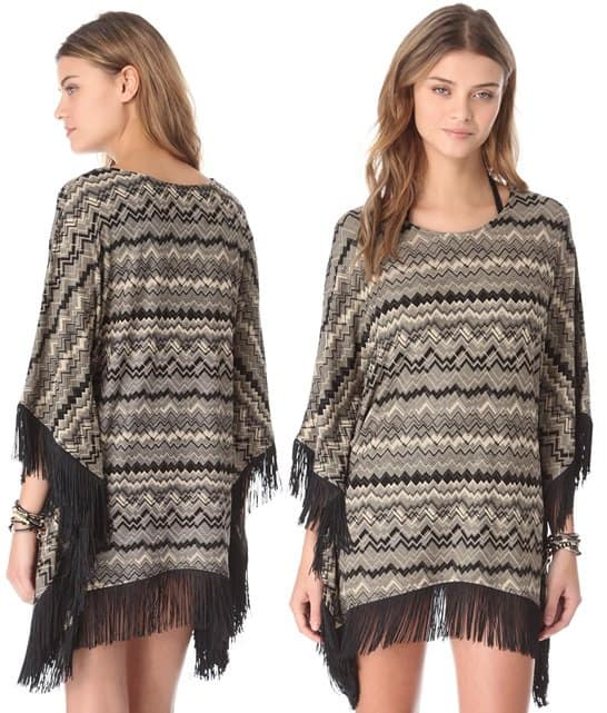 L*Space Sahara Dreams Poncho