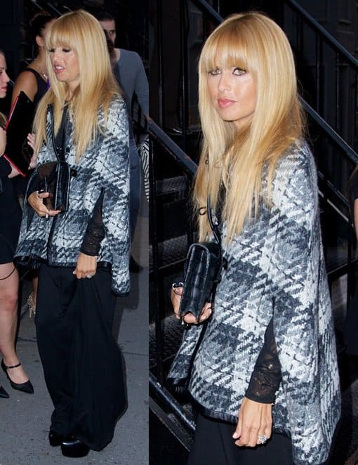 Rachel Zoe spotted in the Soho district in New York on August 27, 2013