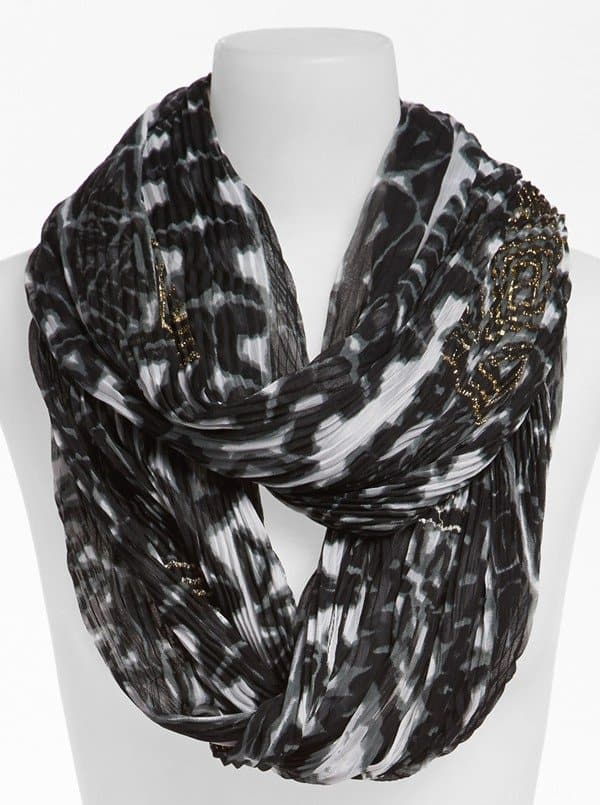 Collection XIIX Tribal Print Infinity Scarf