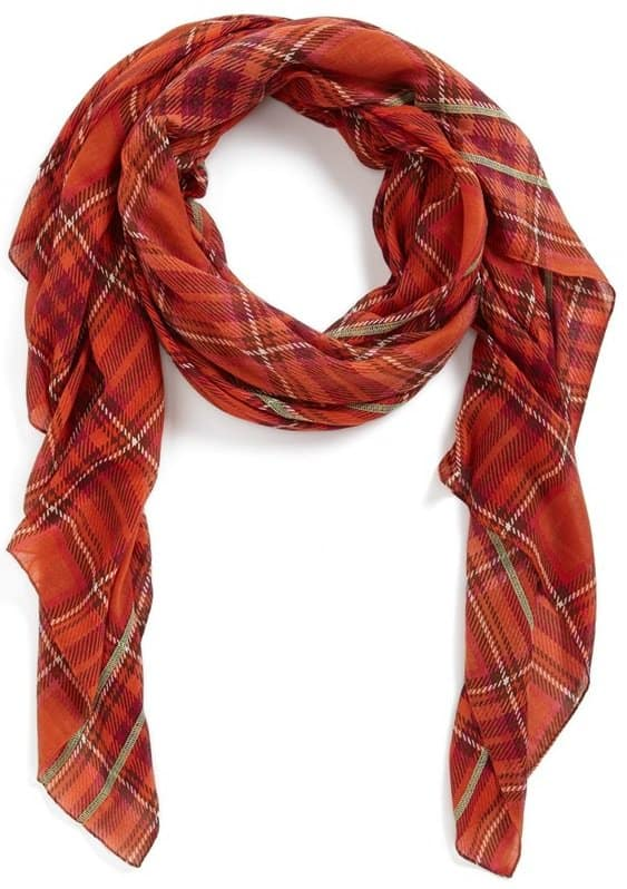 Echo Vintage Plaid Scarf
