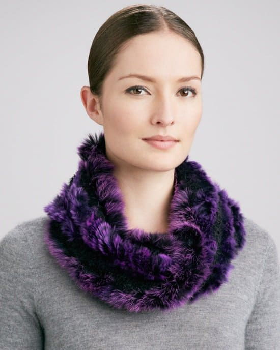Jocelyn Fox Fur Cowl