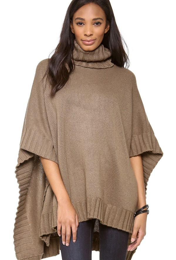 Rachel Pally - Turtleneck Poncho
