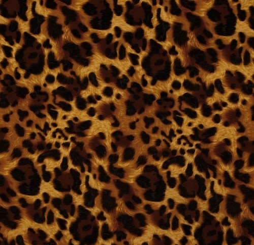 58 inch wide laguna stretch cotton jersey leopard print