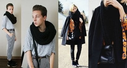What to Wear With a Plain Black Scarf: 3 Chic Outfit Ideas