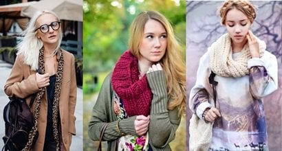 How to Wear a Fall Scarf in October: 10 Chic Outfits