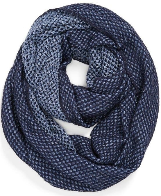 Echo Sparkle Reversible Tube Scarf