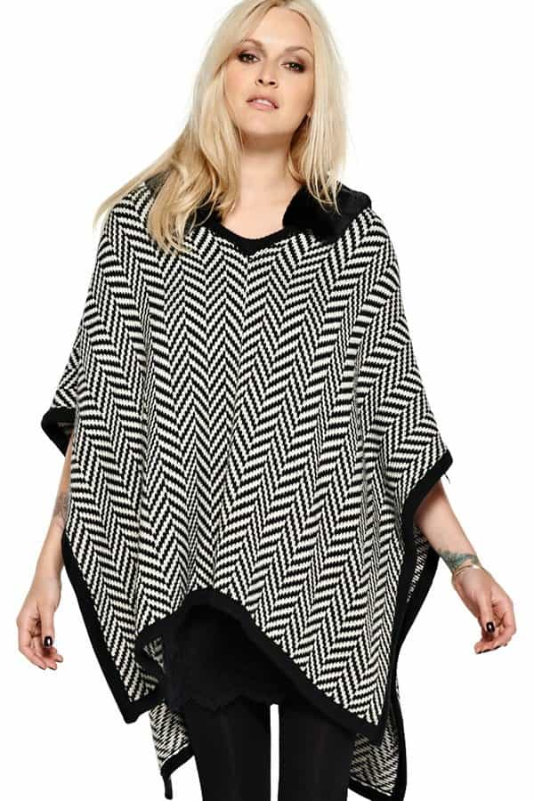 Fearne Cotton Knitted Cape