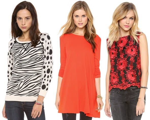 marc jacobs free people alice olivia blouses sweaters tops