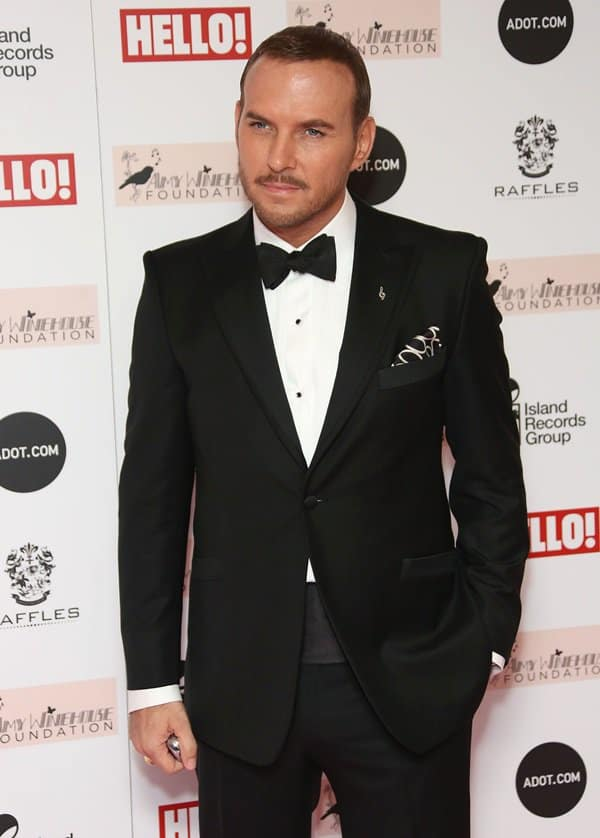 Matt Goss attends the Amy Winehouse Foundation Ball at the Dorchester Hotel on November 20, 2013