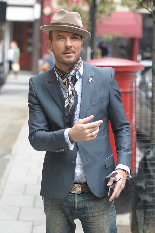 matt goss bbc radio 1 studios october 4