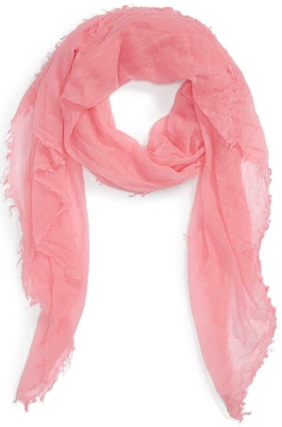Crinkled Cashmere Wrap