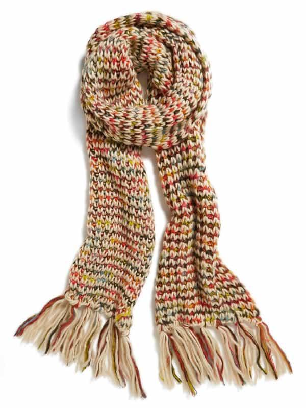 BP - Rainbow Knit Scarf