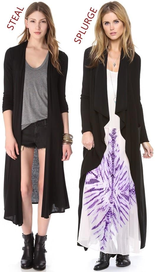 RILLER FOUND RAMY BROOK CARDIGAN LONG