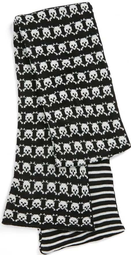 The Accessory Collection Skull Scarf for Girls