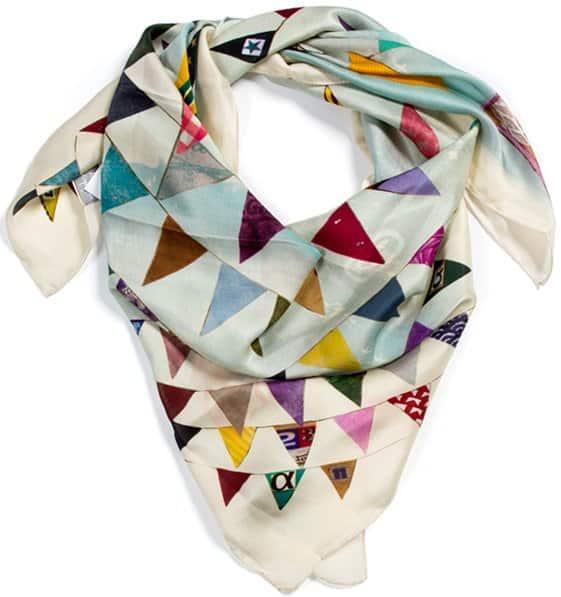 alpha gypsy bunting square scarf