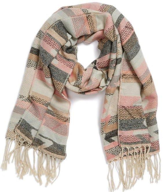 bp southwestern fringe scarf