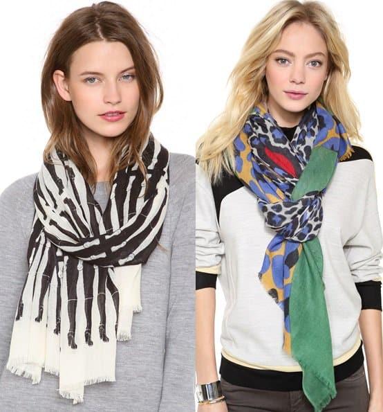 yarnz cashmere scarves