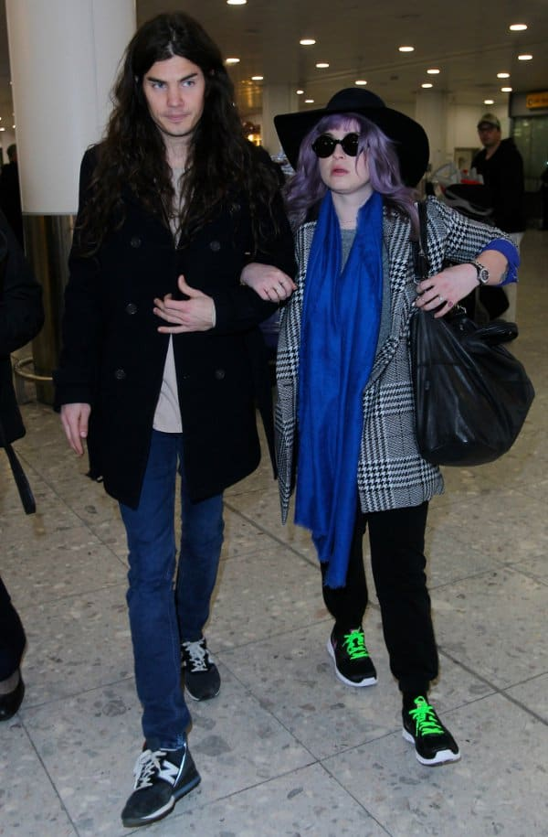 Kelly Osbourne with Matthew Mosshart at