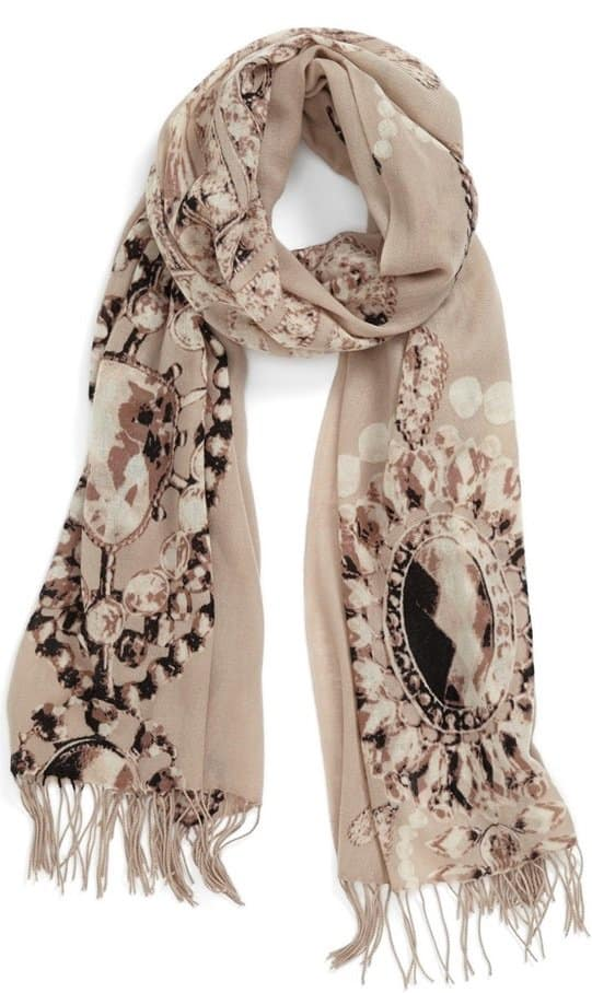 nordstrom romantic jewels scarf