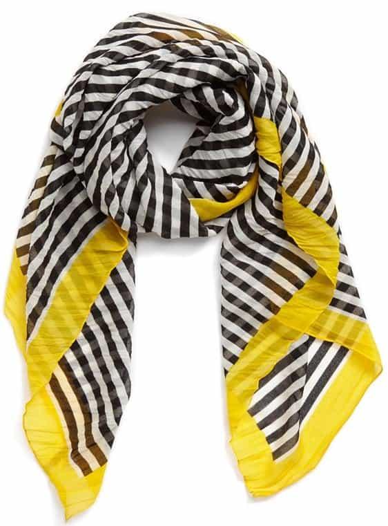 nordstrom stripe square scarf