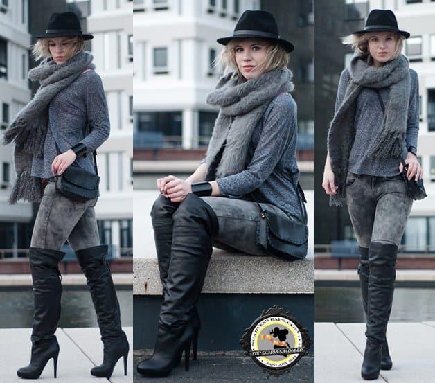 rowan red reiding hood blog scarf winter style 3-horz